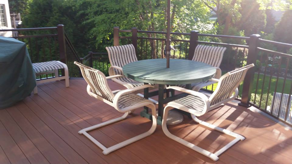 Azek Deck w/ Custom Sunroom Trim – Kirch Improvements, LLC